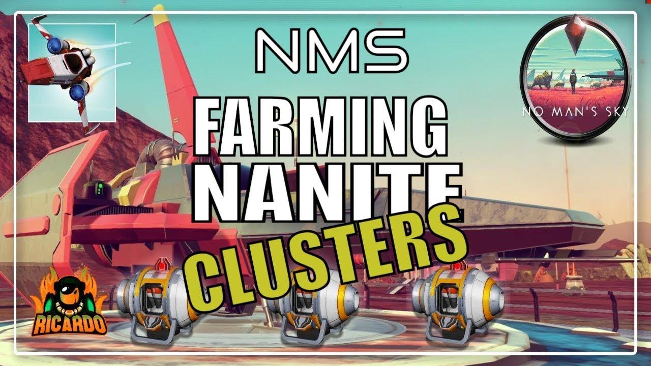 No Man's Sky Making Nanite Refining using Dupe - NMS next tips