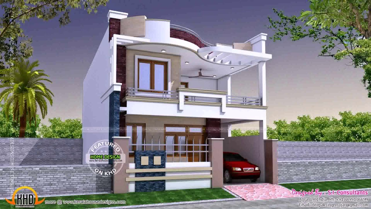 Simple House Design With Floor Plans - YouTube
