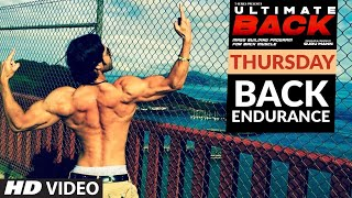 Thursday - BACK ENDURANCE | ULTIMATE BACK | Guru Mann | Health & Fitness