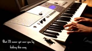 """Tonight I wanna cry"" (Keith Urban)- Piano Instrumental w/lyrics"