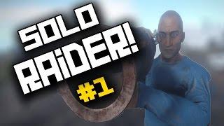 THE RUST SOLO RAIDER! The Return!