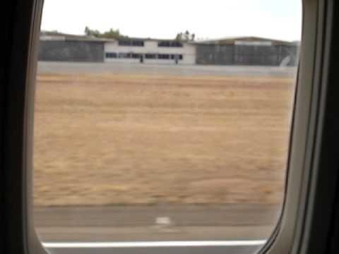 Landing in ASP (Alice Springs)