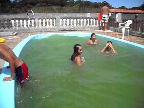 piscina verde rs youtube