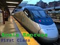 AMTRAK ACELA EXPRESS - America's Highspeed Train | First Class | Trip report