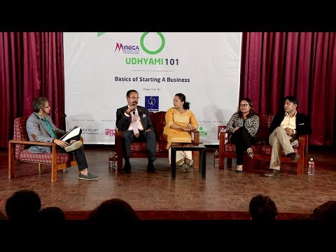 Udhyami101 | Basics of Starting a Business | Panel Discussion