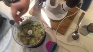 Рецепт Суфле из рыбы. Детская кухня.