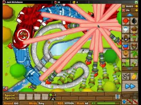 Bloons Tower Defense 5 Madness Episode 2 Dartling Monkeys