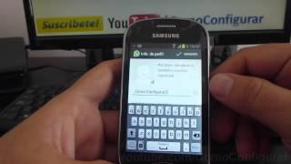 Cómo descargar e instalar Whatsapp en Android samsung Galaxy Fame S6810 español Full HD