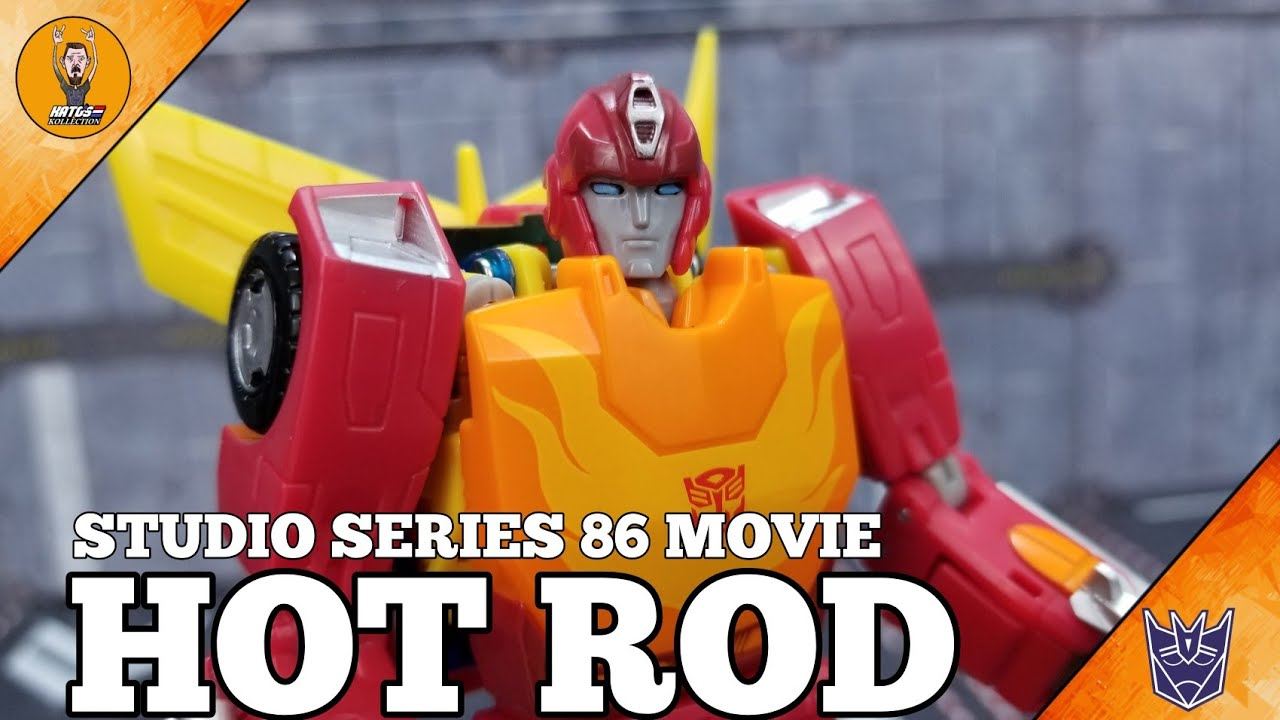 Transformers Studio Series 86 Movie Hot Rod Review by Kato's Kollection