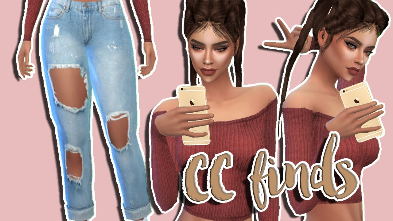 Sims 4 Cc Finds 3 ♡ Youtube