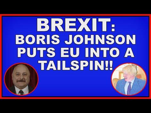 Brexit: Boris Johnson puts EU into a tailspin! (4k)