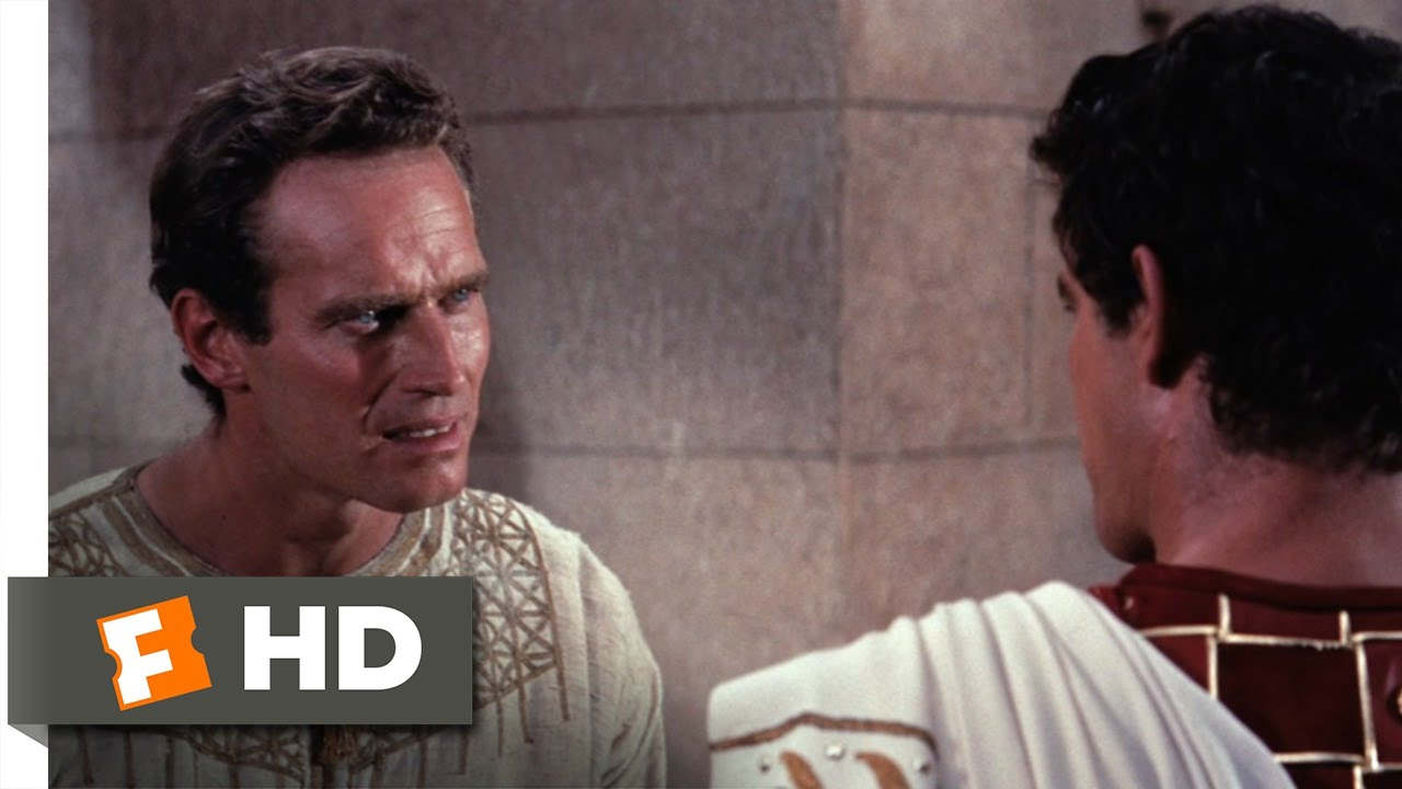 Ben Hur 410 Movie Clip I Am Against You 1959 Hd Youtube