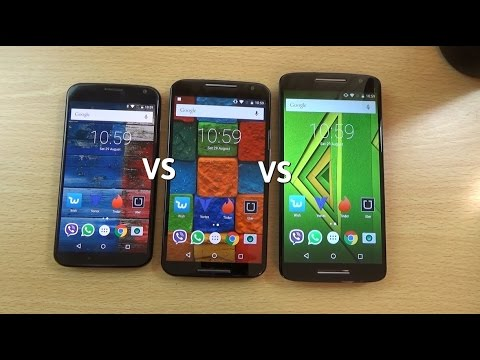 Moto X Play VS Moto X 2014 VS Moto X 2013 - Review