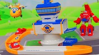 SUPER WINGS Unboxing deutsch: Mehr Spielzeug, Transform Feuerwehrmann Jett & Donnie Spielzeugautos