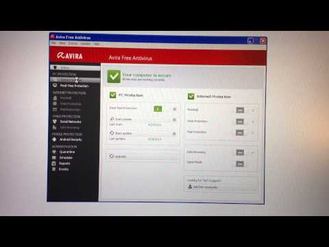Avira Free Antivirus - Control Center is slow