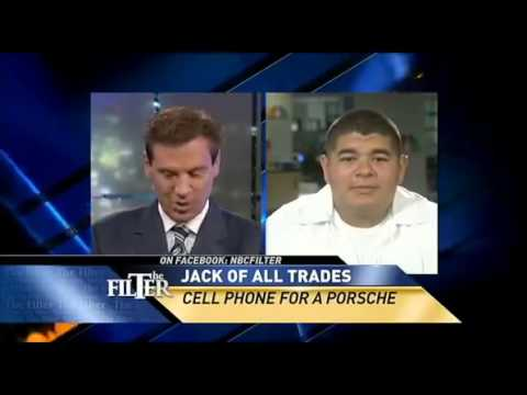 Craigslist Bartering and Trade Up from A Cell Phone to Porsche,