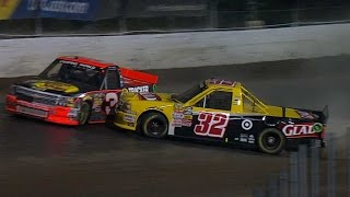 Repeat youtube video Dillon, Larson tangle, No. 3 penalized
