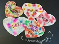 Make Chromatography Valentines