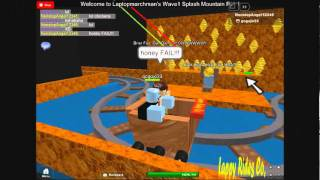 Roblox Rides episode 6: Splash Mountain