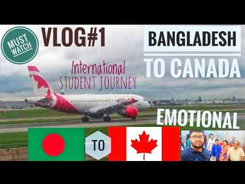 BANGLADESH TO CANADA | INTERNATIONAL STUDENT JOURNEY | EMOTIONAL