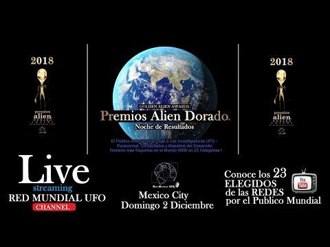LIVE GOLDEN ALIEN AWARDS - PREMIOS ALIEN DORADO 2018 2 DIC 7 PM RESULTADOS ERIKA CORDOVA