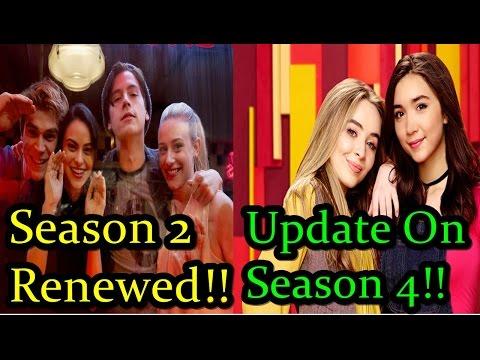 Riverdale Renewed For Season 2!!! | Huge Update On Girl Meets World Season 4!!