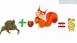 Урок 37 Математика 1 клас. ДІЯ ДОДАВАННЯ НАЗВИ КОМПОНЕНТІВ І РЕЗУЛЬТАТУ ДІЇ ДОДАВАННЯ