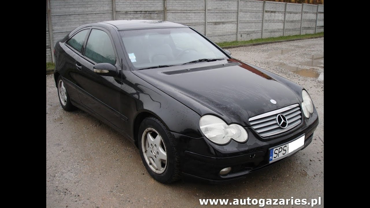mercedes coupe 2 0 kompressor 163km w203 monta instalacji. Black Bedroom Furniture Sets. Home Design Ideas