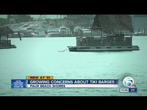 Growing concerns about tikin barges