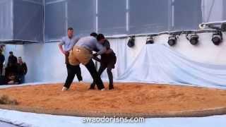 SWISSDAYS なでしこがアルプスの王者に挑むっ♪ シュヴィンゲンSchwingen スイス相撲の横綱 vs 日本女子 HD版