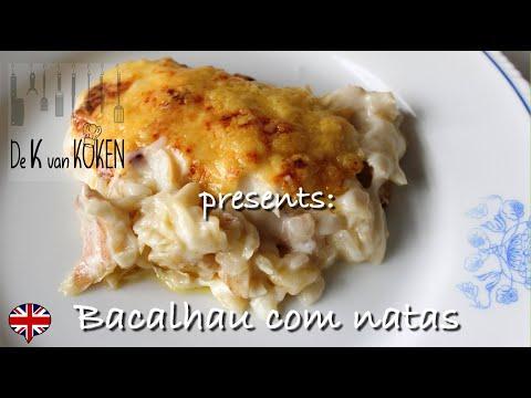 Bacalhau Com Natas – Portuguese Salted Cod In Cream Sauce