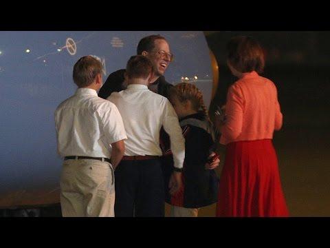 North Korean Detainee Jeffrey Fowle Arrives in U.S.
