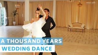 A Thousand Years - Christina Perri  Wedding Dance Choreography  Viennese Waltz  First Dance