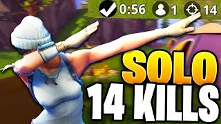 SOLO 14 KILLS!! Fortnite Battle Royal Kill Montage