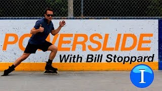 How To Stop On Inline Skates  POWERSLIDE