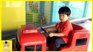Tayo Bus Indoor Playground for Kids and Family Fun at Kids Cafe | MariAndKids Toys