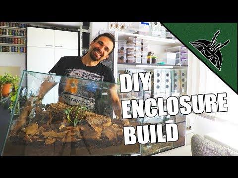 DEVIL'S NEW HOME - DIY Scolopendra dehaani enclosure + GIVEAWAY!