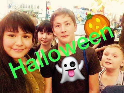 Halloween. Vlog. Shymkent Plaza. Отметили с друзьями.