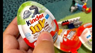Kinder Egg Jurassic World Fallen Kingdom - Kinder Joy Jurassic World - Kinder T-Rex Dimorphodin