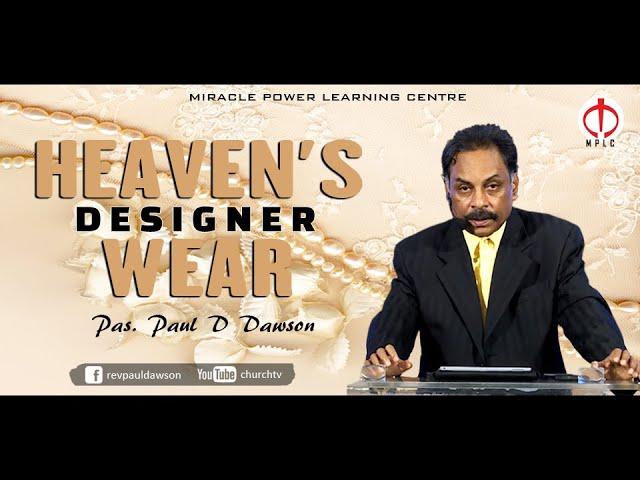 Heaven's designer wear