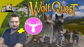 DEN FARLIGE REJSE! - WolfQuest dansk med Den Mandige Elg