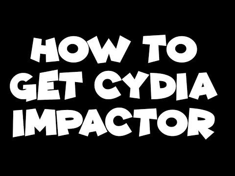 How To Get Cydia Impactor Easy
