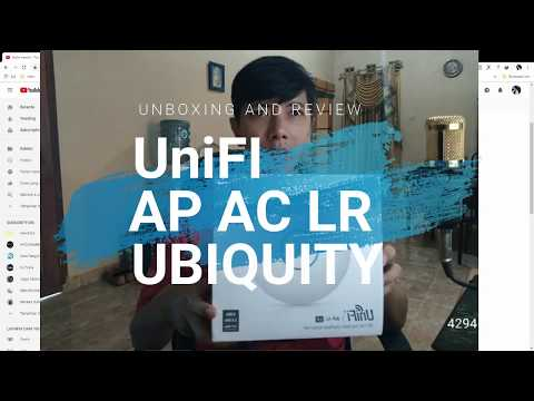 Unboxing Unifi AP AC LR, Akses Point Indoor Bisa Untuk 40 User Sekaligus