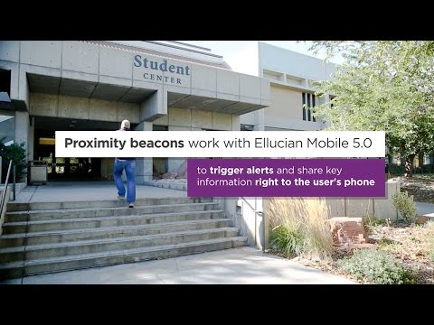 Proximity beacons help engage students at Salt Lake Community College