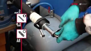BMW 3-series E36 - REAR - Задние амортизаторы KYB установка