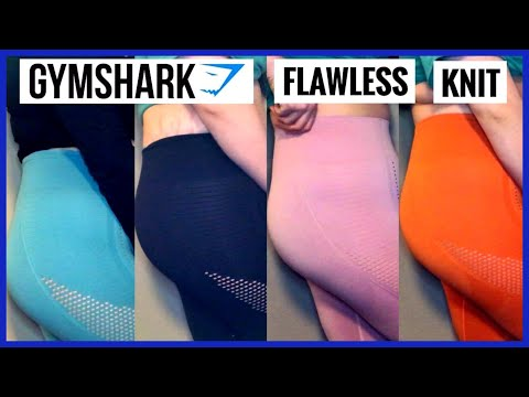 a20e57d197ce4 GYMSHARK FLAWLESS KNIT TIGHTS REVIEW + TRY-ON | SIZE MEDIUM - YouTube