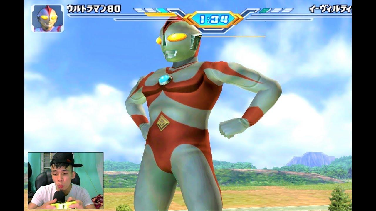 Sieu nhan game play | Ultraman FE3 | Trận đấu theo yêu cầu phần 2 #4