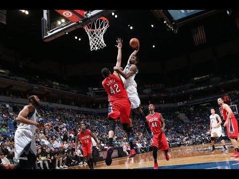 Minnesota Timberwolves Top 10 Plays of the 2014-15 Season