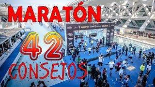 MARATÓN: 42 CONSEJOS PARA CORRER EL MARATÓN