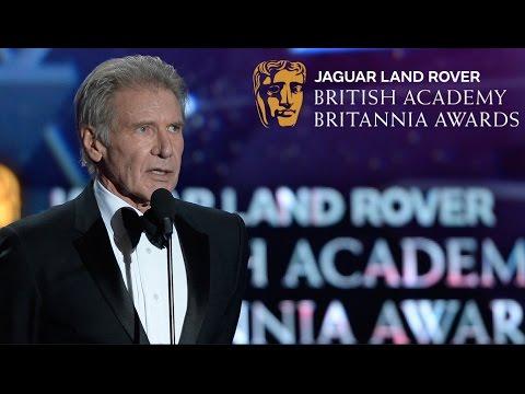 Harrison Ford accepts the Albert R. Broccoli Britannia Award FULL SPEECH